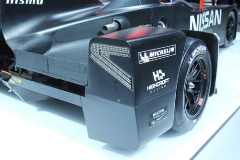 Nissan DeltaWing Rear