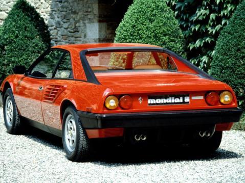 Ferrari Mondial Rear