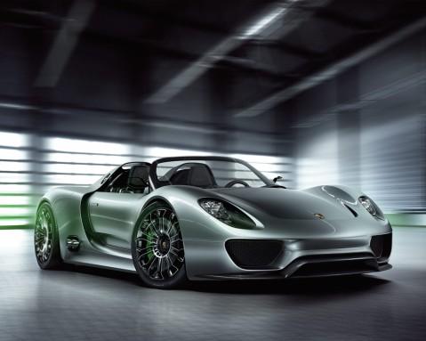 Porsche 918 Front