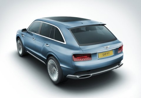 Bentley EXP 9F Rear