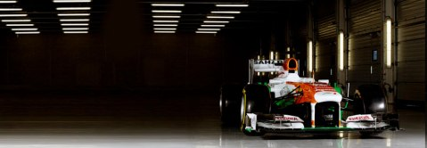 Force India F1 Car