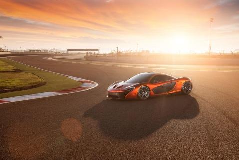 McLaren P1 Sunset