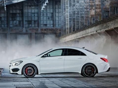 Mercedes CLA45 Side