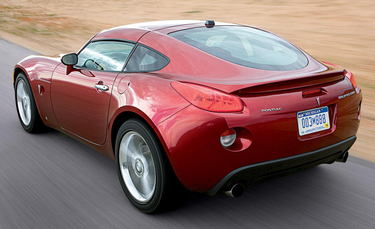 Future Classics Pontiac Solstice Gxp Coupe Downshift Autos