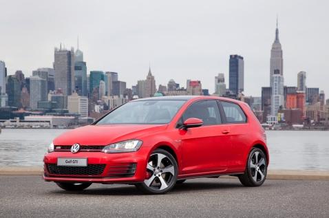 Volkswagen GTI MkVII Front