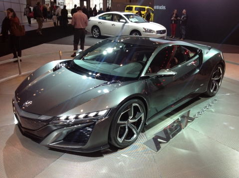 Acura NSX Front Three Quarter
