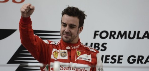 Alonso Win China GP