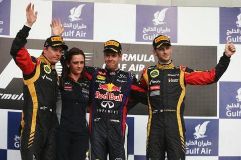 Bahrain 2013 Podium