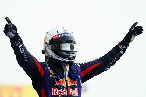 Bahrain 2013 Vettel