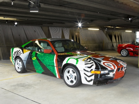 BMW 8 Series David Hockney Art Car