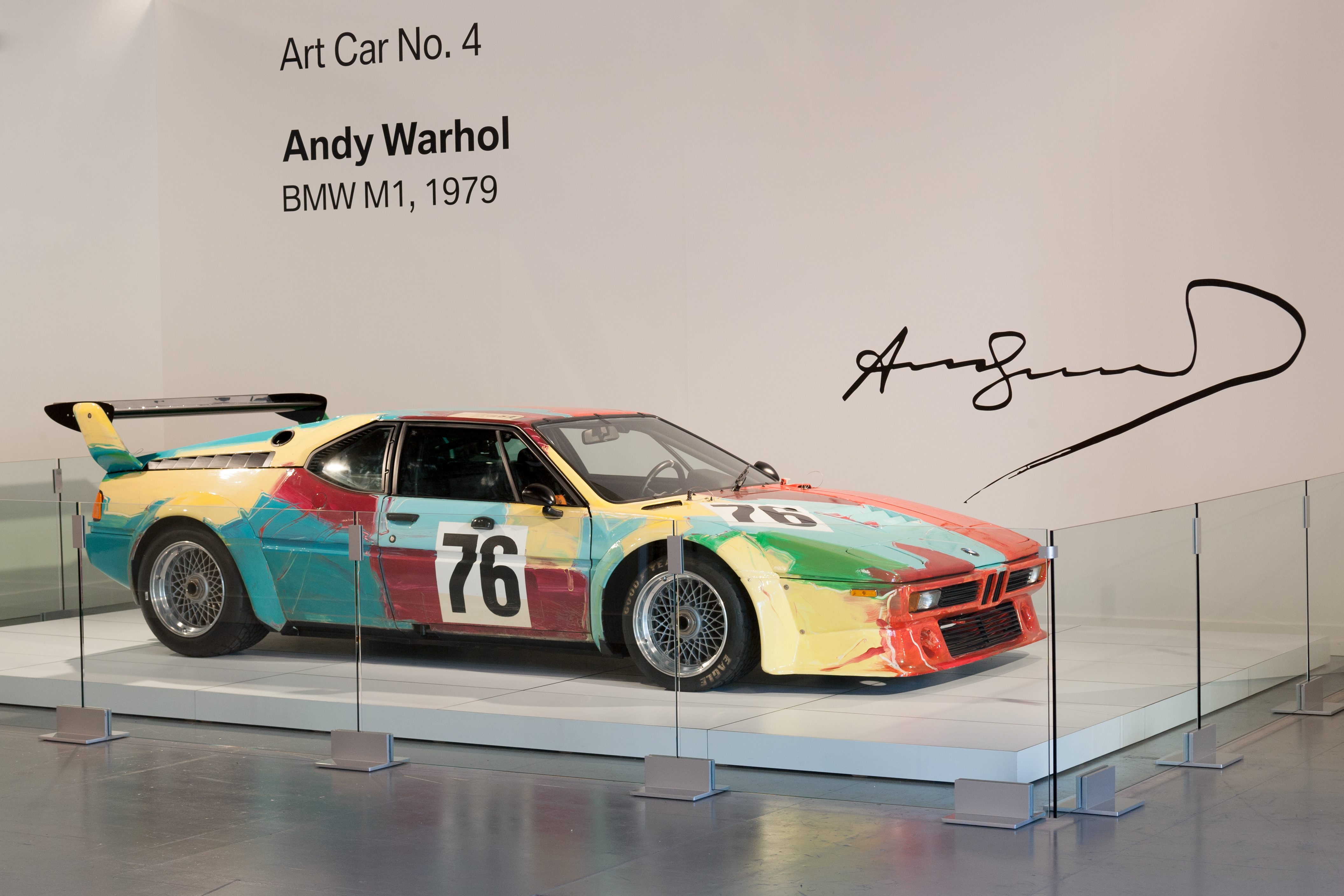 Andy Warhol S Bmw M1 Art Car Will Be Showcased At The