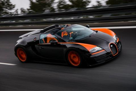 Bugatti Grand Sport Vitesse World Record 1