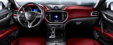 Maserati Ghibli Interior