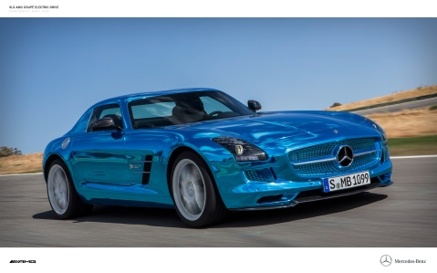 Mercedes Electric Drive Front