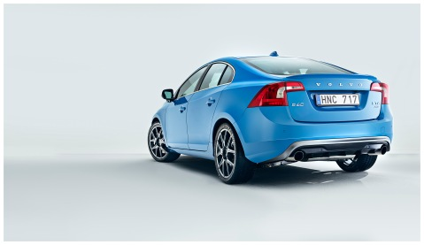 Volvo S60 Polestar Rear View