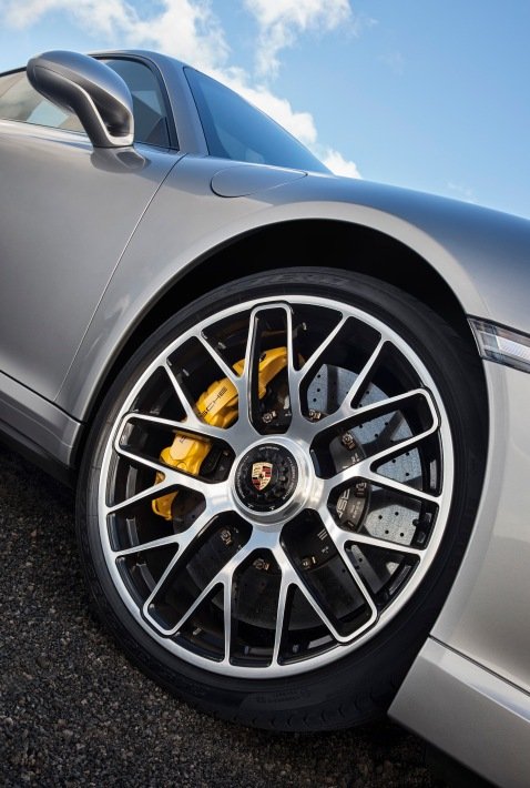 2014 Porsche 911 Turbo Wheels