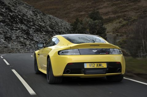 Aston Martin V12 Vantage S Back