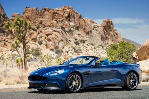Aston Martin Vanquish Volante Front