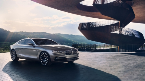 BMW Gran Lusso Coupe Concept Front 2