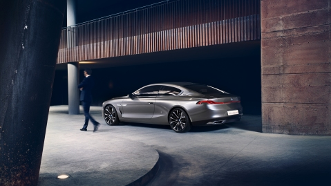 BMW Gran Lusso Coupe Concept Rear 2