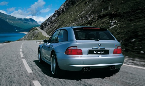 BMW M Coupe Rear