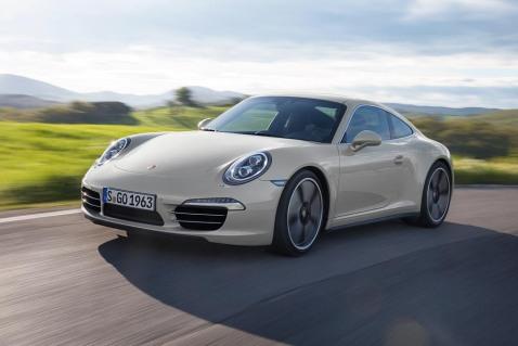 Porsche 50th Anniversary Front
