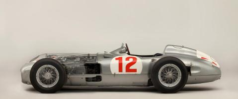 Fangio F1 Car
