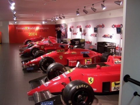 Ferrari F1 Lineup