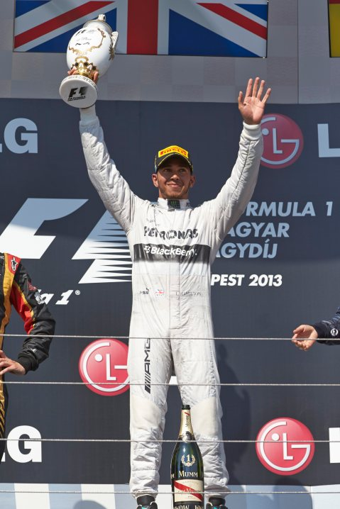 Hamilton Win Hungary GP