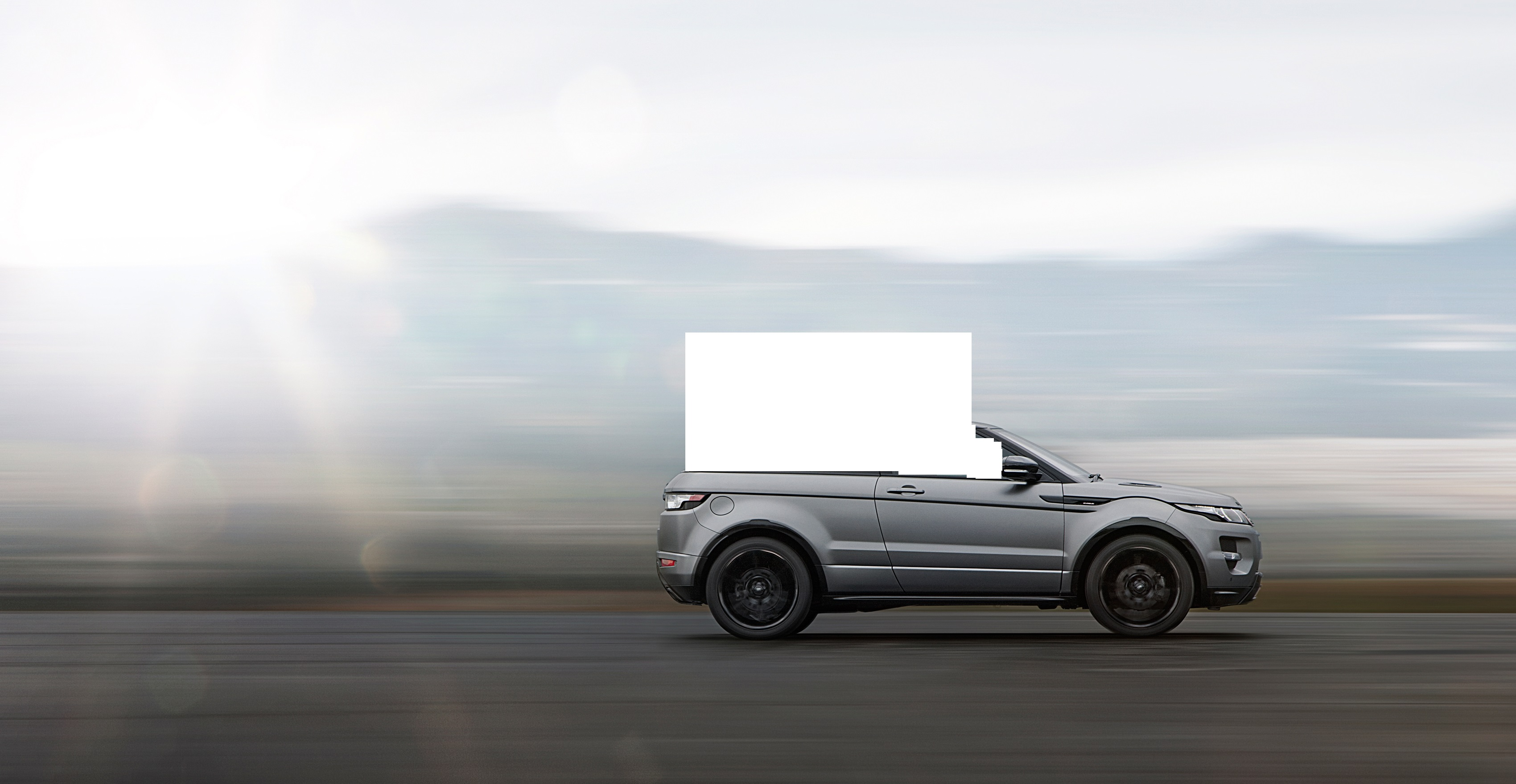 The Range Rover Evoque Convertible Will Be the Greatest Car in the
