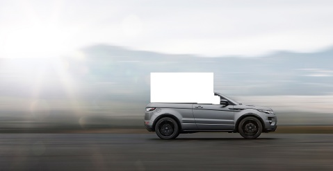 Land Rover Evoque Convertible Artist Rendering