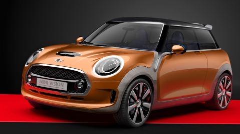 Mini Vision Concept Front Three Quarters