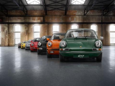 Porsche 911 Family