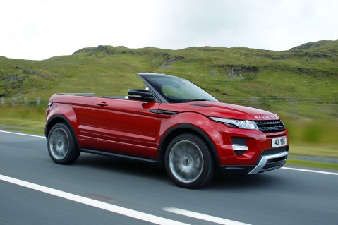 Range Rover Evoque Convertible Spy Shot