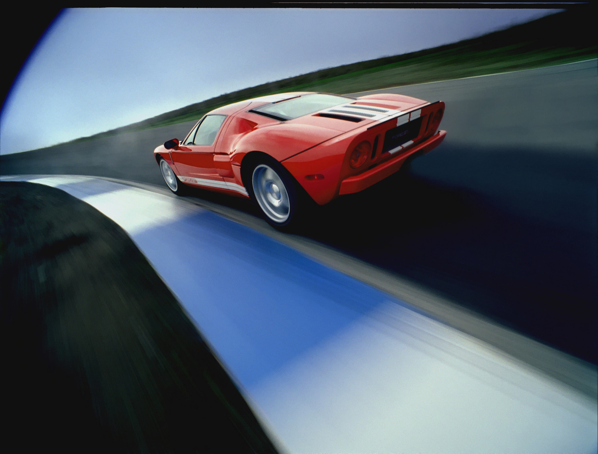 Ford Gt Tops  Mph In Race Inspired Super Bowl Ad