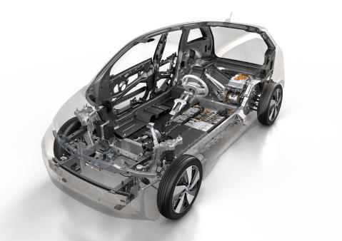 BMW i3 Frame