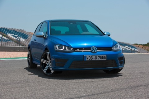 MkVII Golf R Front