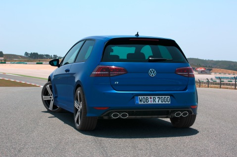 MkVII Golf R Rear