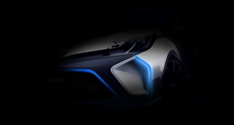Toyota Hybrid-R Concept Teaser