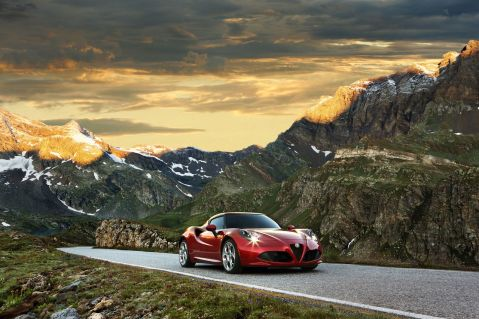Alfa Romeo 4C Mountains