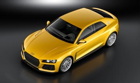 Audi Sport Quattro Front