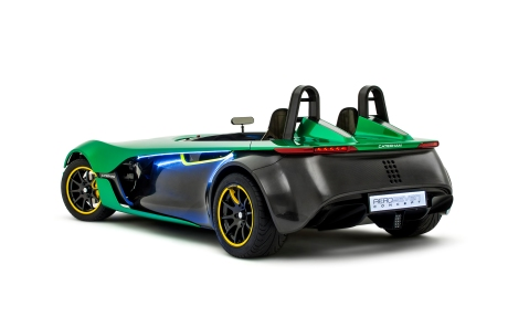 Caterham Aeroseven Rear 34