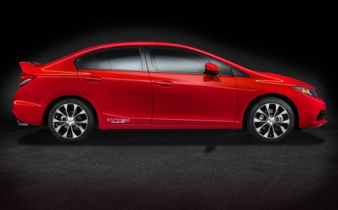 2013 Honda Civic Si Side
