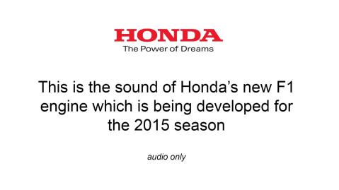 Honda 2015 Formula 1 Pic