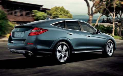 Honda Crosstour Rear