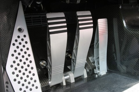 Porsche Carrera GT Pedals