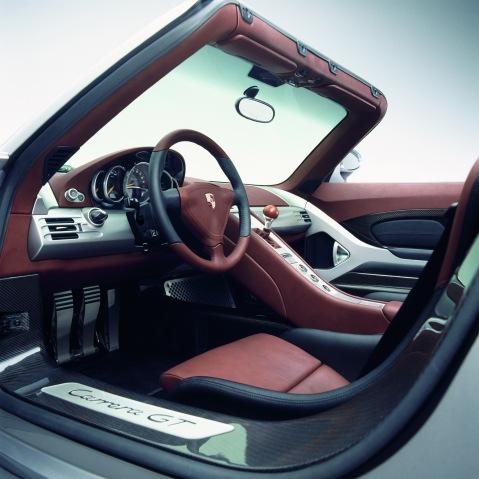 Porsche Carrera GT Seats