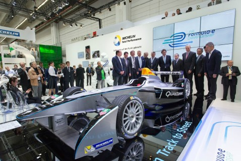 Formula E Car Profile